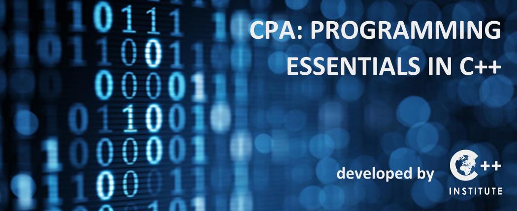 C/C++ Courses through Cisco Networking Academy   C++