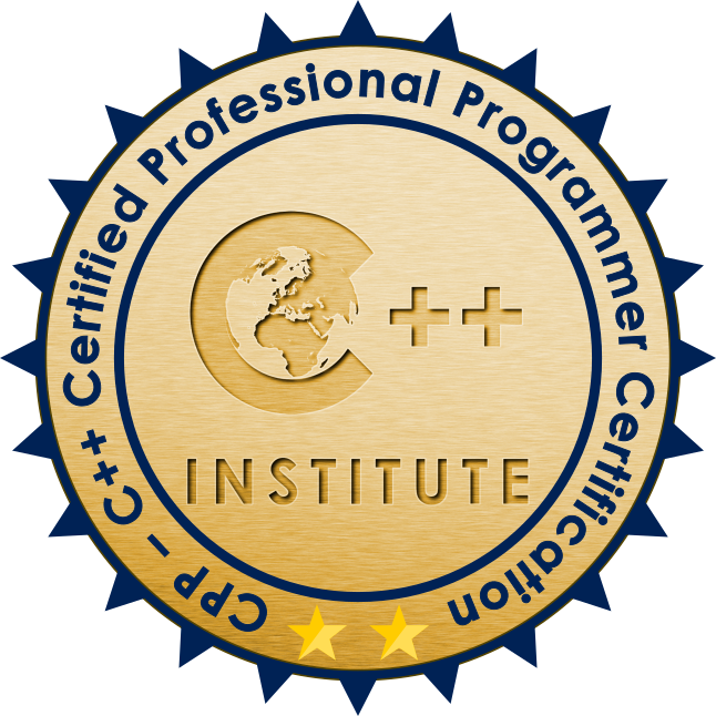 Cpp C Certified Professional Programmer Certification C